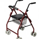 Rollator con asiento