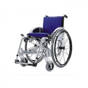 Silla de aluminio con ruedas adaptables